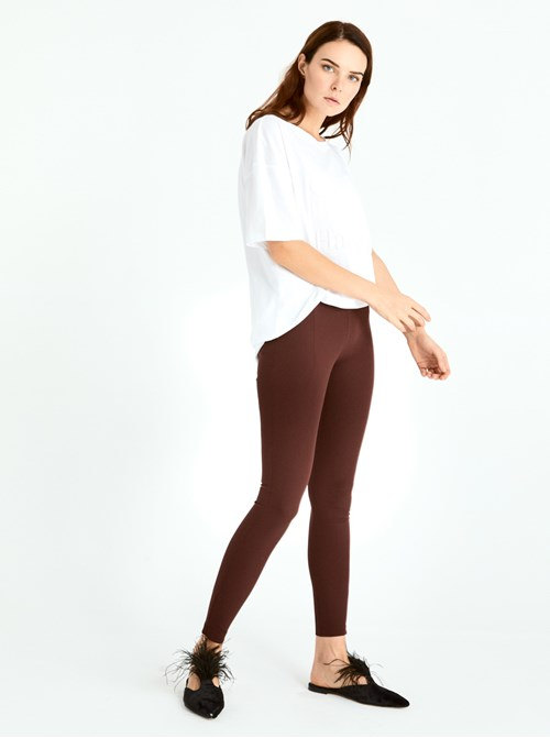 Bordo Skinny Pantolon