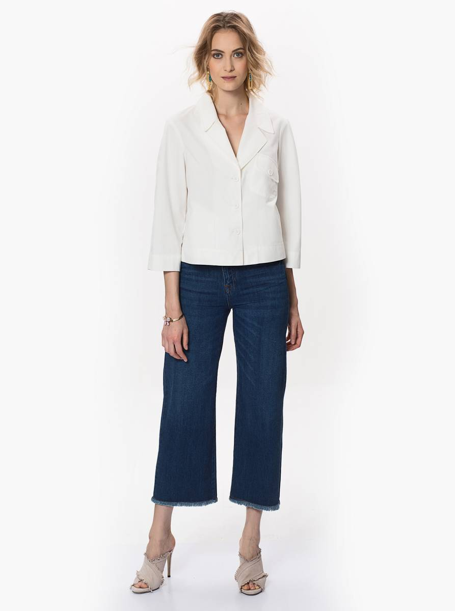 Denim Culotte Pantolon 2