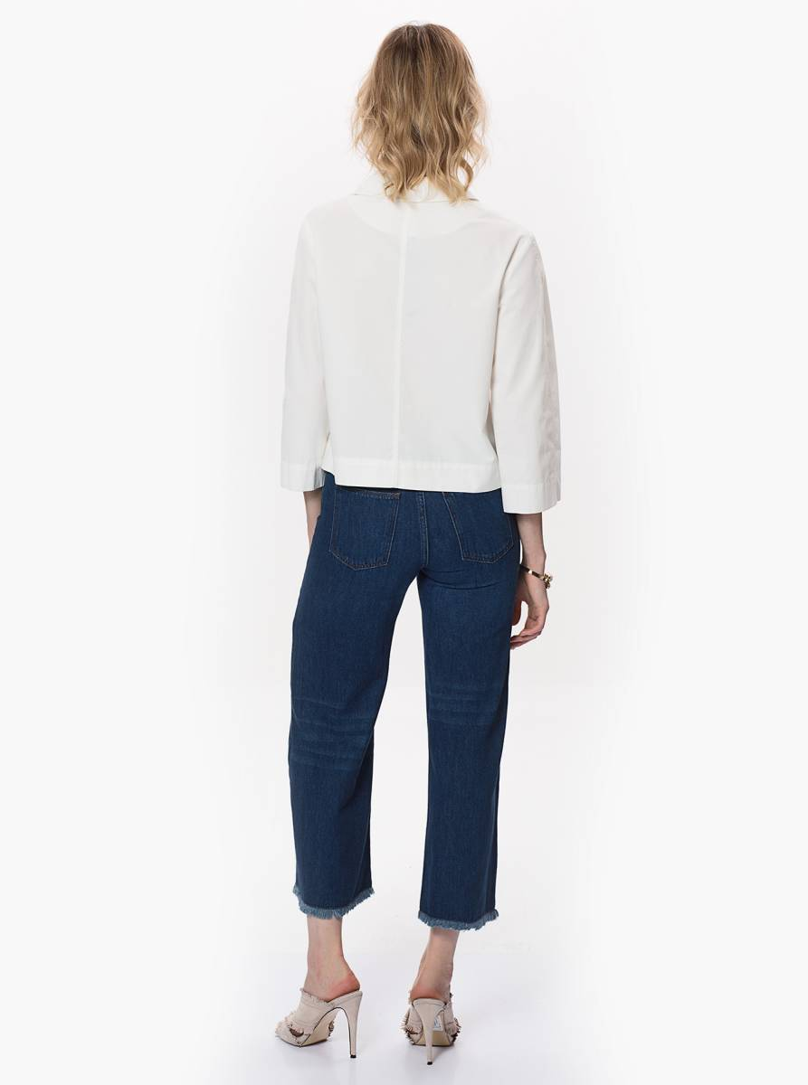 Denim Culotte Pantolon 3